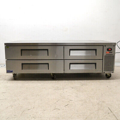 Turbo Air Tcbe-72sdr-n Refrigerated Chef Base Refrigerator Cooler 4-drawer 72