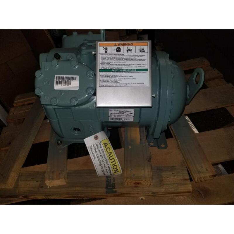 Carlyle 06dm3160ca3650 5hp Med Temp Semi Hermetic Ac Compressor 460/400/60-50/3