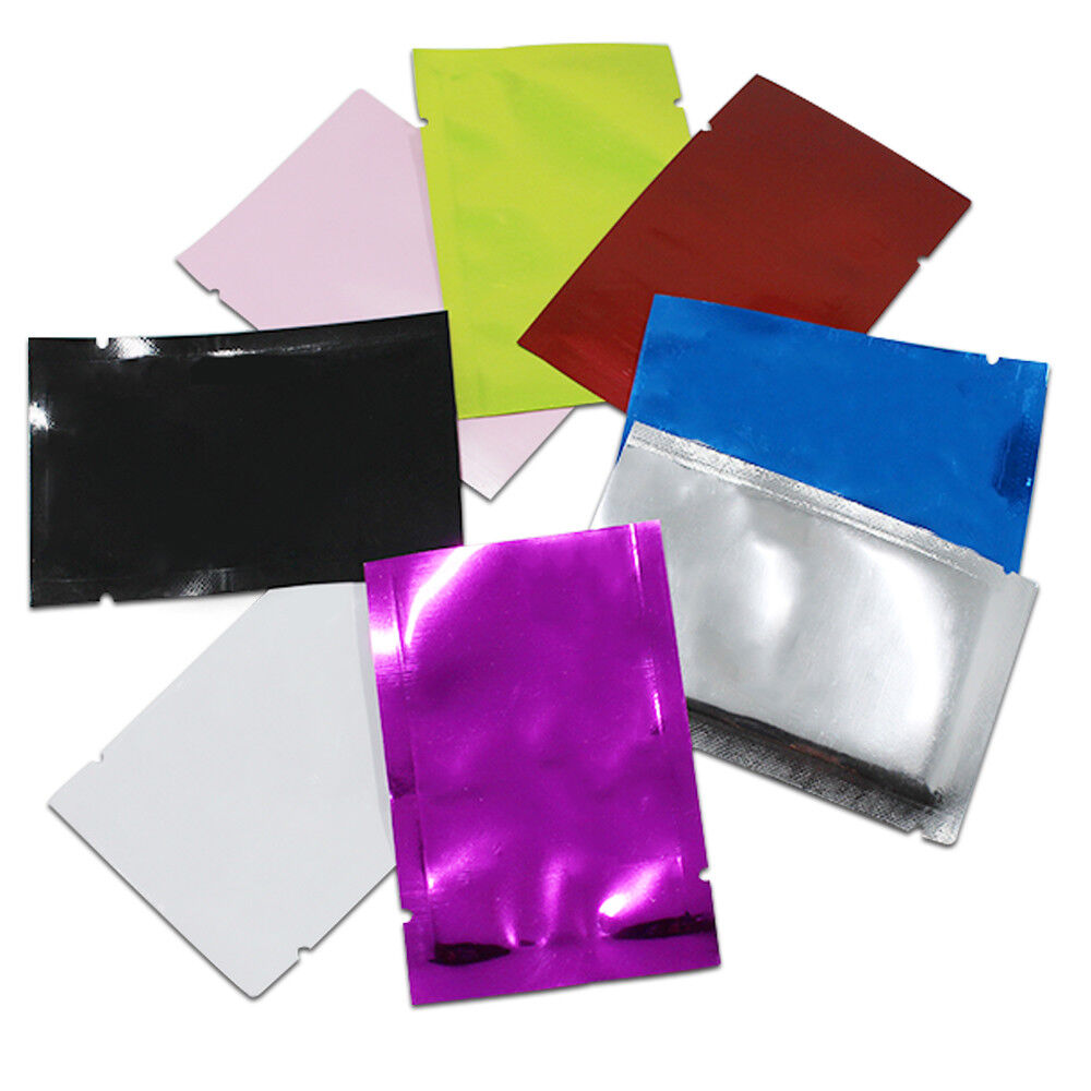 Colorful Aluminum Foil Bags Vacuum Sealer Food Safe Package