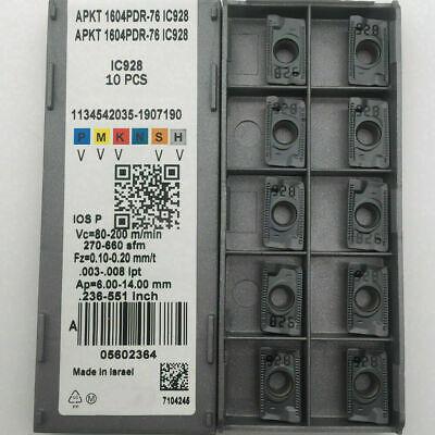 ISCAR APKT1604PDTR-76 IC928 CARBIDE INSERTS APKT1604 PDTR-76 IC908 10pcs