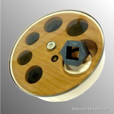Gewindebohrer Adapter Gewindeschneider 5x5 auf 13mm Knarre Ratsche Nuss