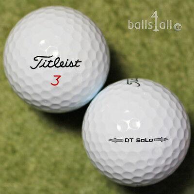 150 Golfbälle Titleist SoLo AA Qualität Lakeballs Bälle used golf balls DT  ()