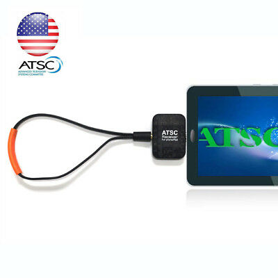 OTA Digital Terrestrial ATSC Android Phone Tablet TV Tuner Receiver Mini Dongle