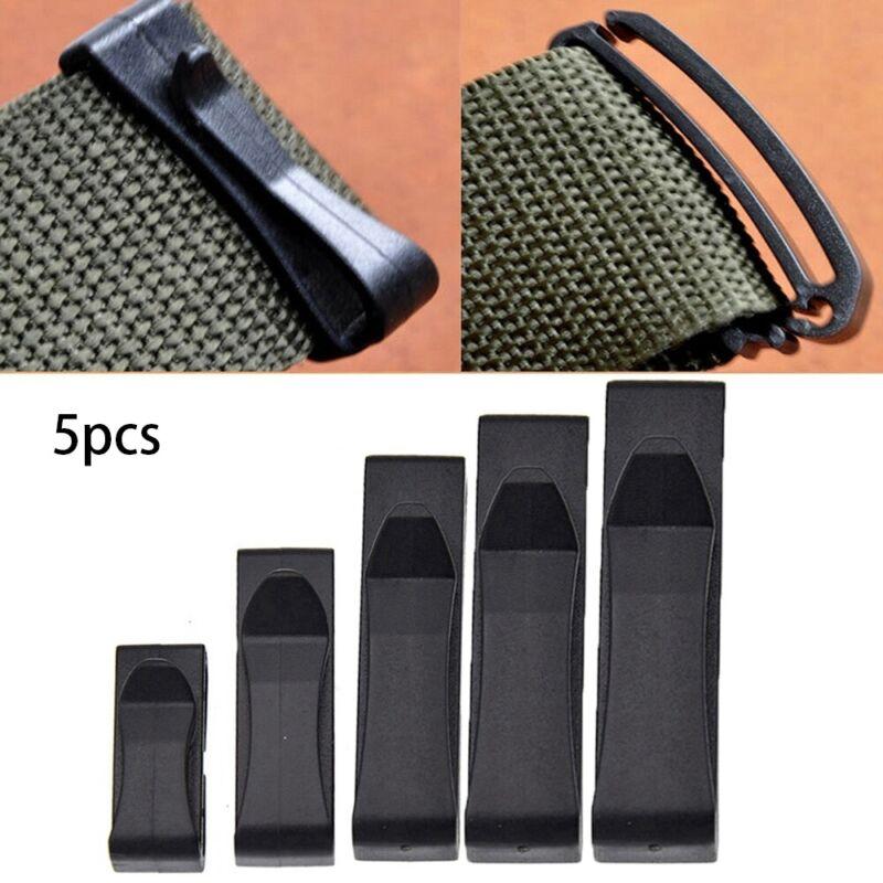 Tactical Backpack Buckles Belt end Clip Adjust Keeper Molle Webbing Buckle