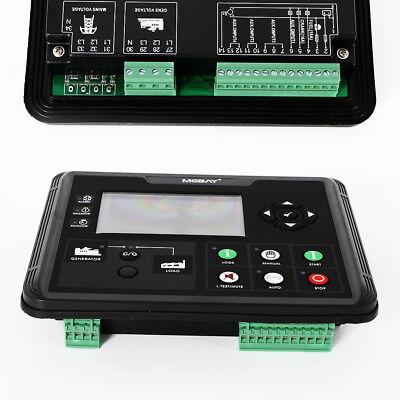 Generator Set Controller Dieselgasoline Genset Parameters Monitor W Lcd Screen