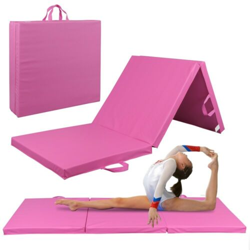 High-Density EPE Foam Thick Soft Tri-Fold Panel Gymnastics M