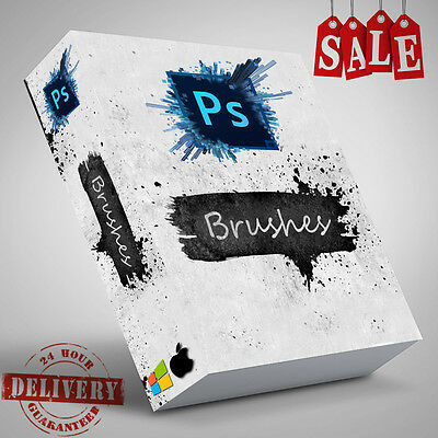 1000+ Professional Photoshop Brushes Vol 1 Studio Photographers Plugin Presets