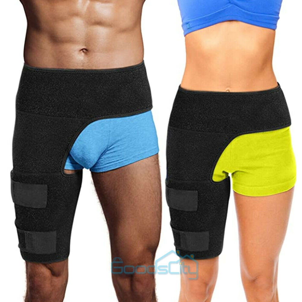 Hip Brace Compression Groin Support Wrap for Sciatica Pain R