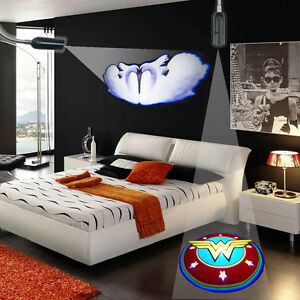bedroom bar hotel ceiling wall e27 led logo projector decor spot down