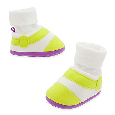 Disney Store Toy Story Buzz Lightyear Baby Costume Shoes Size 6 12 18 24 Months
