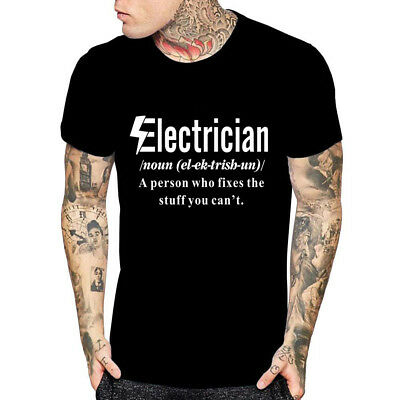 Funny Electrician  Tshirt  Engineer A person who fix stuff you can't tee dad tee - Father's Day Stuff