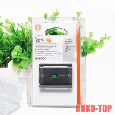 NP-FZ100 battery for Sony ILCE-9 A9 A7RM3 A7RIII A7R3 FZ100