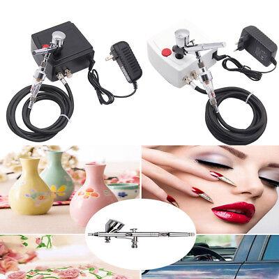 Airbrush&Mini Compressor Kit Tattoo Nail Tool Model Air Pump Kit Compressor