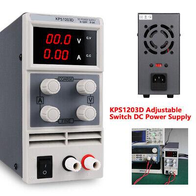 Kps1203d Adjustable Switch Dc Power Supply Output 0-120v Ac 110v High Precision