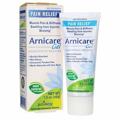 Boiron Pain Relief Arnica Gel Homeopathic Medicine Paraben Free, 1.5 oz, 1 Pack