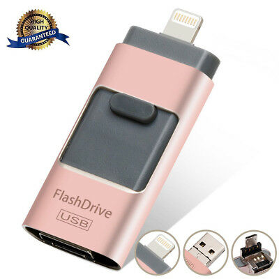 64/128/256/512GB USB Flash Drive Photo Memory Stick Expansion OTG For - Photo Stick