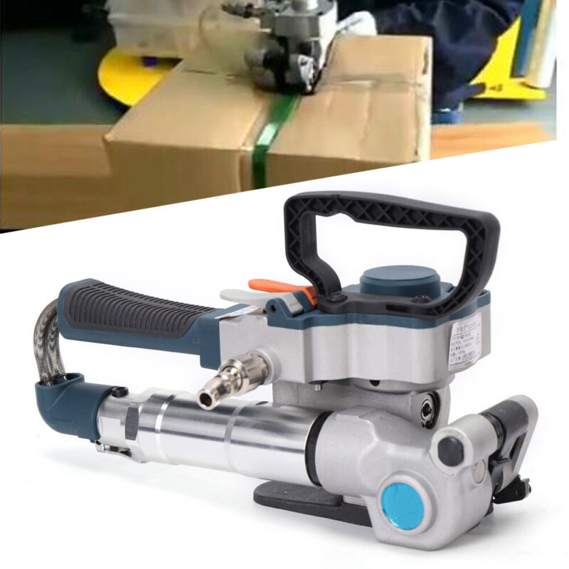 PP&PET Pneumatic Strapping Tool Protable Handheld Plastic Strapping Machine USA