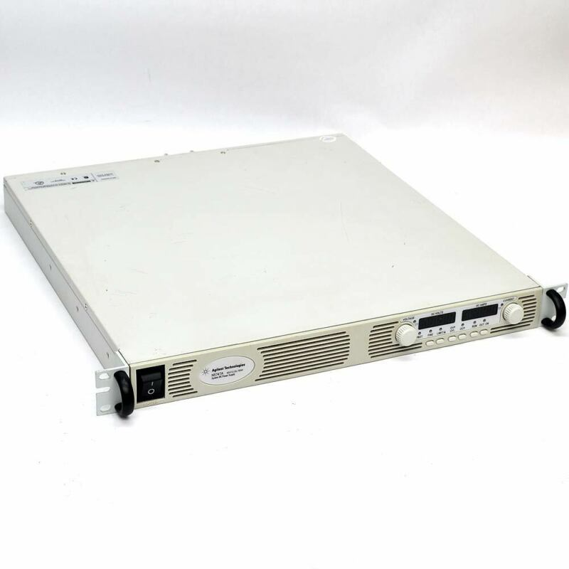 "Agilent N5747A 0-60V 0-12.5A 750W System DC Power Supply 19""1U Rackmount Tested!"