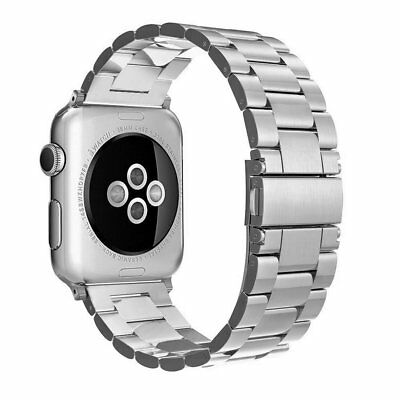 Aus 4 Stainless Steel (Simpeak Band For 42/44MM apple watch Series 4 3 2 1 Stainless Steel Band)