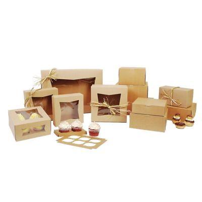 23053k kraft paperboard window bakery box 10