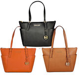 Michael Kors Jet Set Top-Zip Saffiano Leather Medium Tote