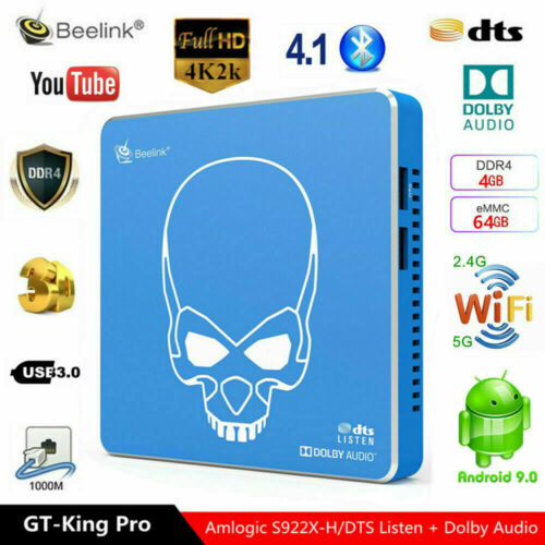 Beelink GT-King Pro / GT-King 4K 60fps Smart TV BOX 4GB+64GB