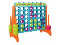 Giant connect four- four in a row- party games for sale