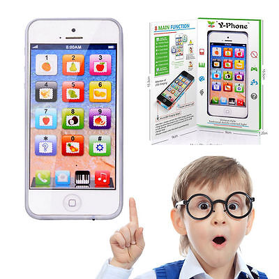Toy Phone Baby Childrens Y-Phone Educational Learning Kids Y-Phone TOY 4s 5 Gift