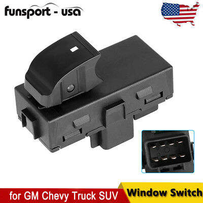 Power Window Switch Rear LH Left or RH Right for Buick Chevy GMC Sierra 2007+