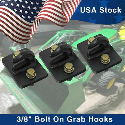 38 Bolt On Grab Chain Hooks For Skid Steer Loader Tractor Bucket Pack Of 3