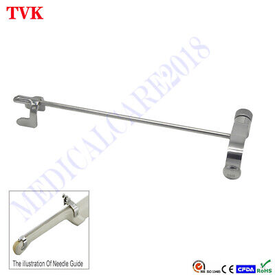 Stainless Steel Biopsy Needle Guide For Hitachi Eup-v53w Ultrasound Transducer