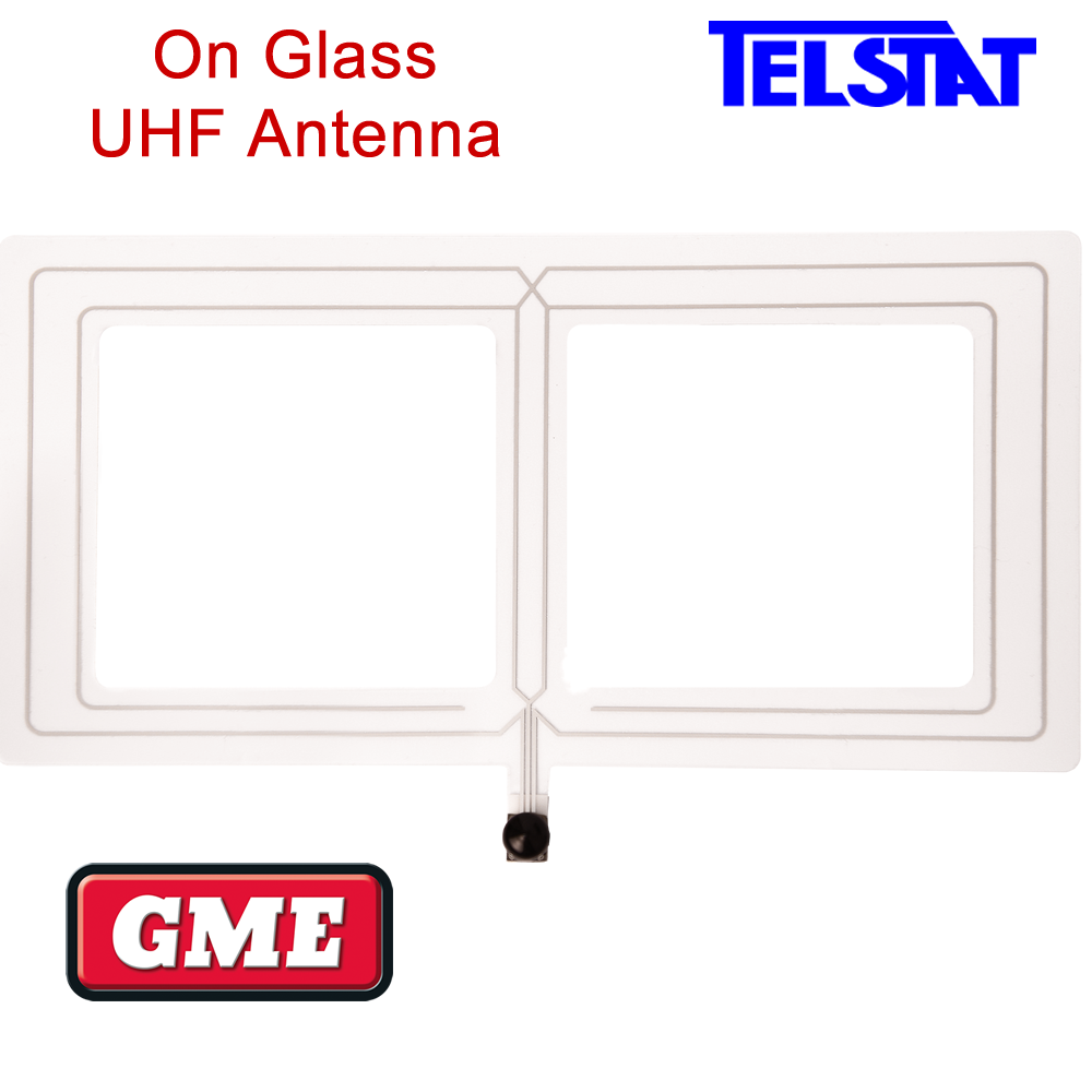 NEW Fibreglass UHF Antenna S//S Spring 477mhz 720mm 5dB