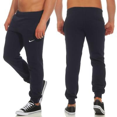 Cuff Trainingshose (Nike Fleece Tapered Swoosh Club Cuff Pant Trainingshose Jogginghose Sporthose)