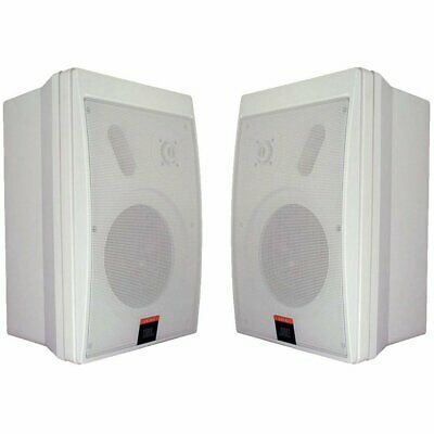 JBL CONTROL 5-WH Compact Control Monitor Loudspeaker System, White (sold as pair
