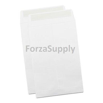 White Seal (White Self-Seal Envelope for Shipping Mailing Kraft Paper Letter 28-lb 1000)