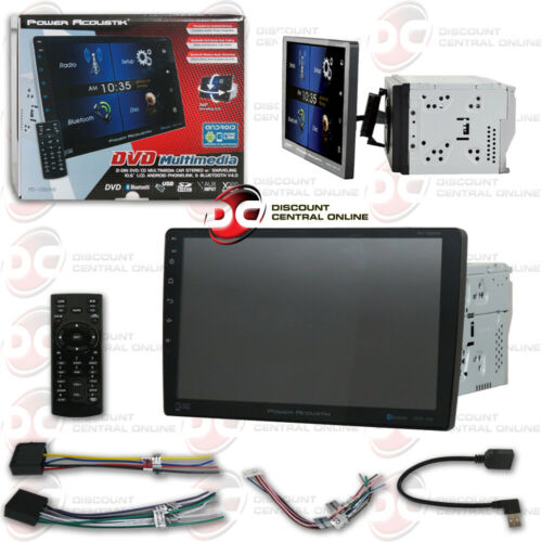 "POWER ACOUSTIK PD-1060HB CAR 2DIN DVD CD BLUETOOTH STEREO W/ 10.6"" TOUCHSCREEN"
