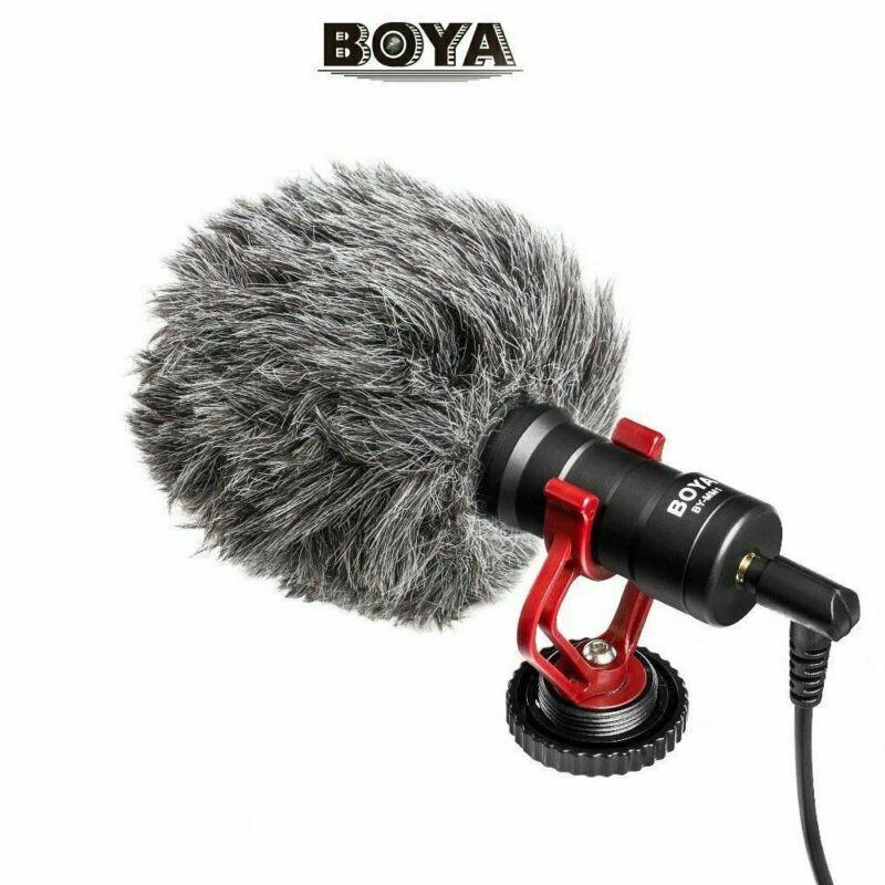BOYA BY-MM1 Microphone Metal Electric Condensor MIC Shotgun For Cellphone Camera