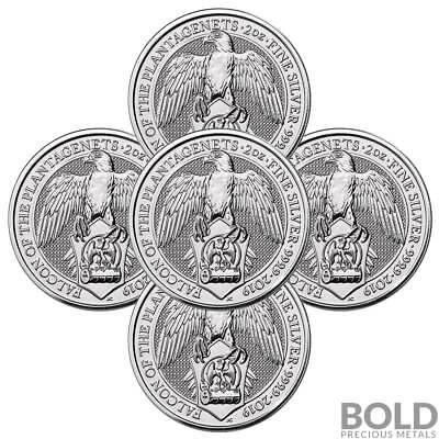 2019 Silver Great Britain Queen's Beasts (The Falcon of the Plantagenets) - 2...