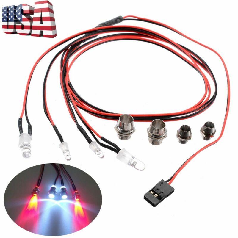 Car Parts - 1/10 RC Car Truck LED Lights Kit LED Lights 5mm & 3mm Lamp Headlights Parts US