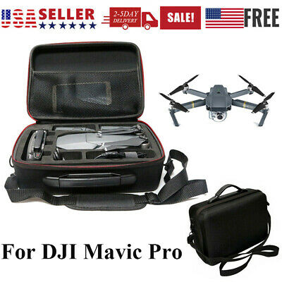 For DJI Mavic Pro Drone Waterproof Shoulder Carry Case Storage Bag Backpack US