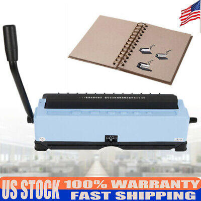34-hole Binding Machine Paper Punching Binding Machine Spiral Coil Solid Handle