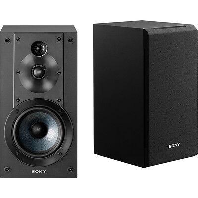 Sony SS-CS5 3-Way 3-Driver Bass Reflex Stereo Bookshelf Spea