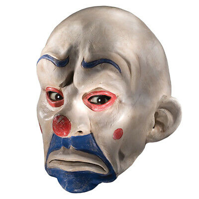 Batman Dark Knight  Adult Joker Clown Bank Robber Mask Halloween Costume RU4502