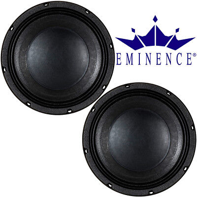 "Eminence Kappa Pro 10LF Low Frequency Woofer 10"" inch Sub Woofer Speakers, 2 pcs"
