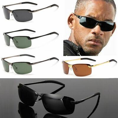 Herren Sonnenbrille Polarisiert Aviator metal Brillen Sport UV - Aviators Sonnenbrille