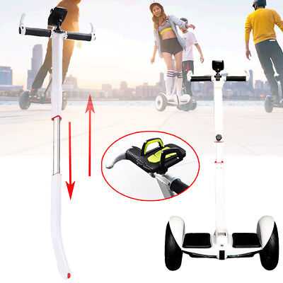 Adjustable Handlebar W Bracket For Ninebot Mini Pro Segway Mini Scooter White