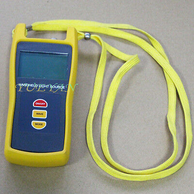 131015501490nm Fiber Optic Handheld Testing Tool Optical Light Source Tester