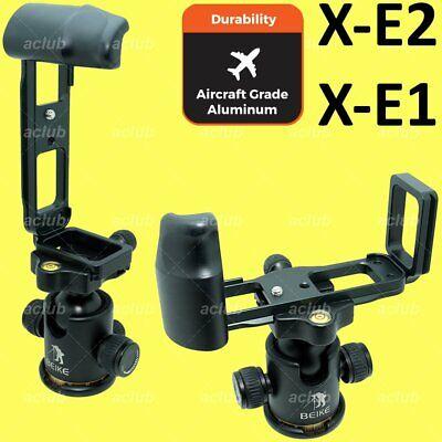 Fujifilm X-E2 X-E1 XE2 XE1 Quick Release L-Bracket Vertical Hand Grip L-Plate