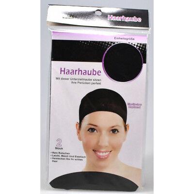 rücke Kopfhaube Kopfband Haarhaube Haarnetz Perückenkappe (Haarband Perücken)