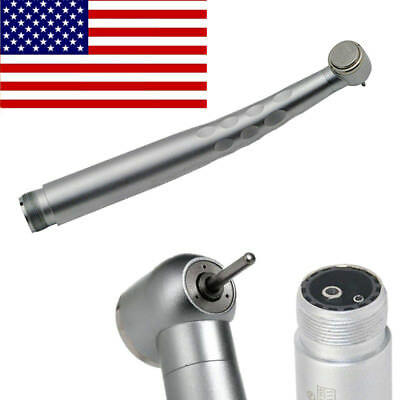 Dental High Speed Handpiece Standard Push Button 3-way Spray 2 Holes Denshine